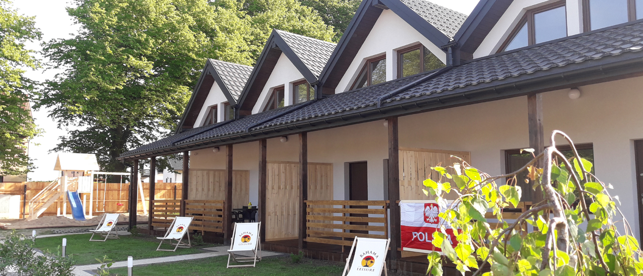 Nowe domki w Mielenku